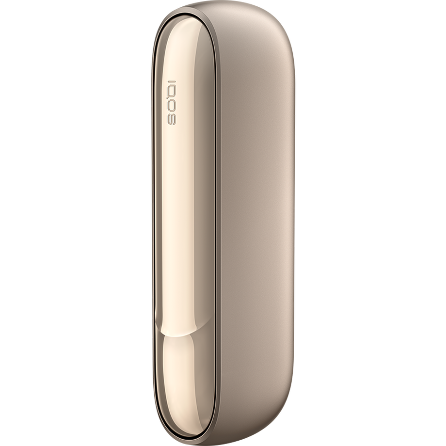 IQOS 3 DUO GOLD P. CHARGER - BOX, ذهبي